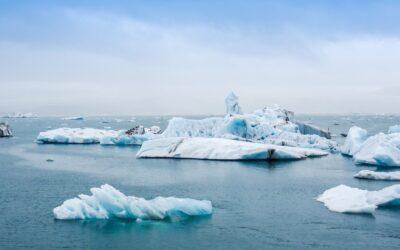Isen smelter på grønland