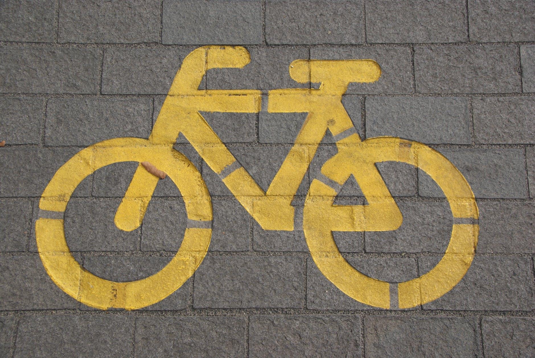 gul cykel