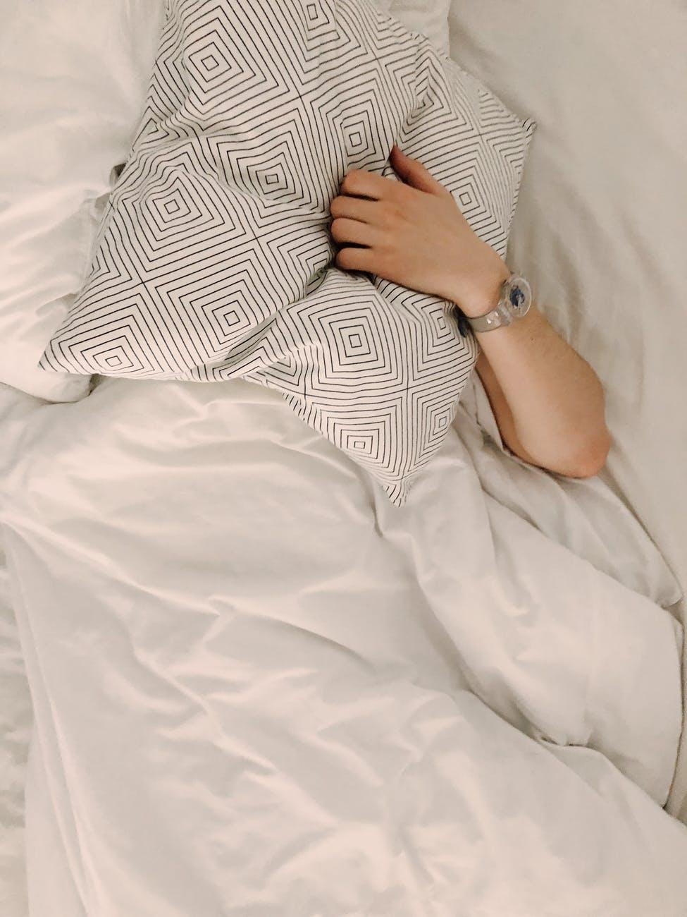Du bevæger dig meget under urolig søvn