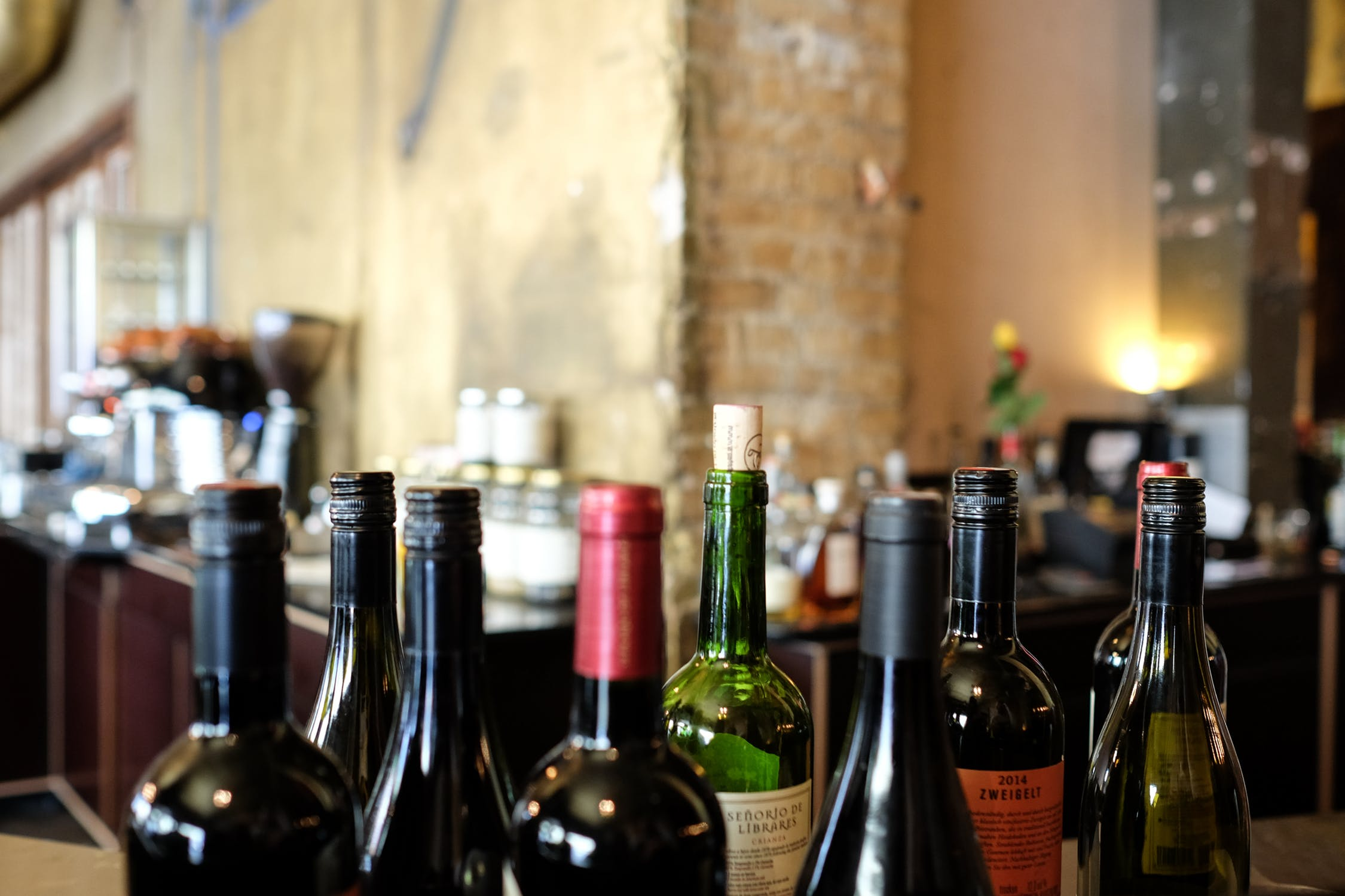 Vin på flaske