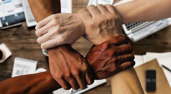 godt sammenhold mellem kollegaer