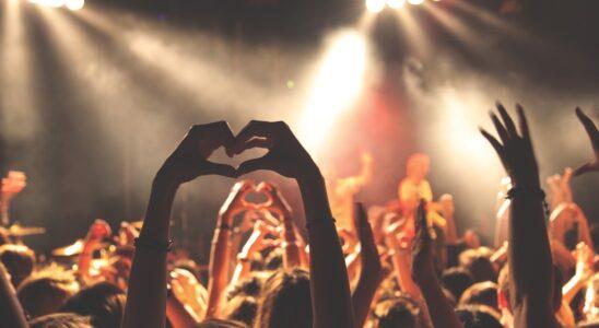 Koncert og menneskemængde