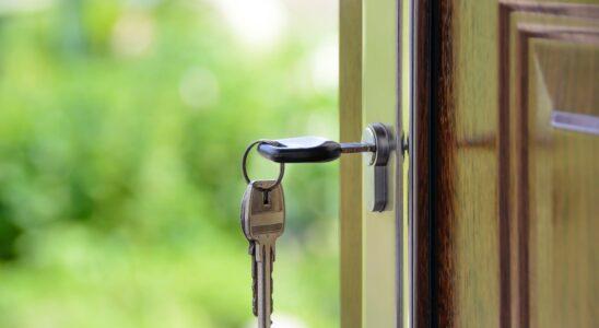 Nøgle i dør