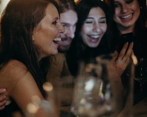 Kvinder der griner